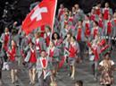 Team Schweiz mit Stanislas Wawrinka.