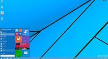 Das Startmenü wurde bei Windows 10 wieder an gewohnter Stelle platziert.