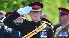 27 Kilometer ist Prinz Harry mit den Veteranen unterwegs. (Symbolbild)
