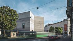 Das Kunstmuseum Basel mit Neubau (links im Bild).