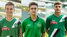 Der FC St. Gallen befördert drei Nachwuchskräfte.