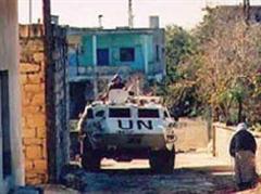 Unifil-Truppen im Südlibanon.