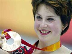Irina Slutskaja hatte in Turin nur Bronze gewonnen.
