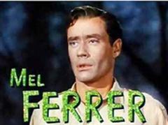 Mel Ferrer war als Puppenspieler in dem Film «Lili» berühmt geworden.