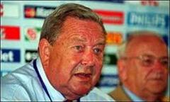 UEFA-Präsident Lennard Johansson.