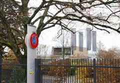 UEFA Hauptsitz in Nyon.