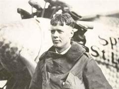 US-Flugpionier Charles Lindbergh hatte auch in Europa kinder.