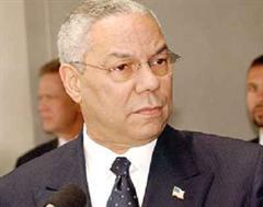 Colin Powell war unter US-Präsident George W. Bush erster schwarzer Aussenminister der USA.