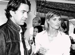 "Alessandro ""Billy"" Costacurta und seine Frau Martina Colombari."