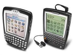 Smartphones vom Typ Blackberry.