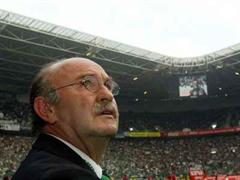 Gladbachs Trainer Horst Koeppel.(Bild:Archiv)