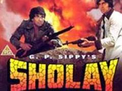 "Neben der Komödie ""Rok Sako To Rok Lo"" bietet Airtel den Bollywood-Blockbuster ""Sholay"" an."