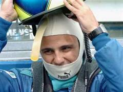 Felipe Massa ist unverletzt.
