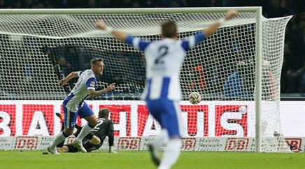 Toptorschütze Julian Schieber fehlt Hertha im Abstiegskampf.