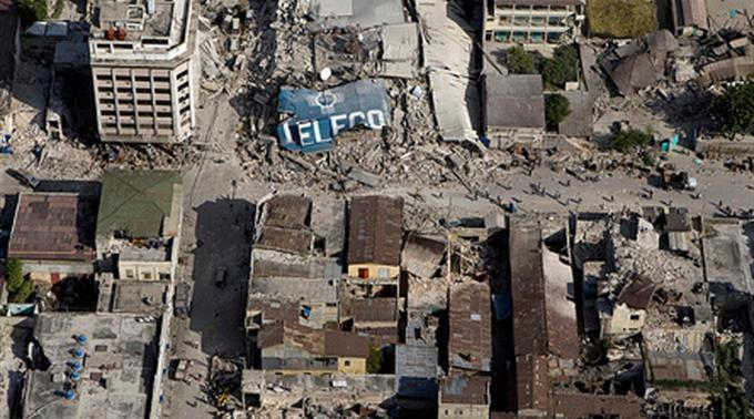 Erdbeben in Haiti.