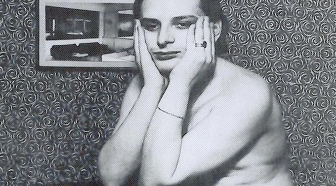 Urs Lüthi. Selbstportrait Bruxelles, 1967, Privatbesitz.