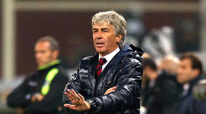 Genuas Trainer Gian Piero Gasperini wurde gefeuert.