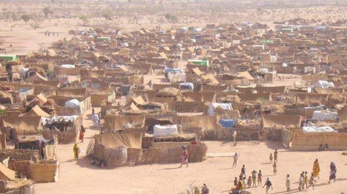 Flüchtlingslager im Westen des Sudans. (Archivbild)