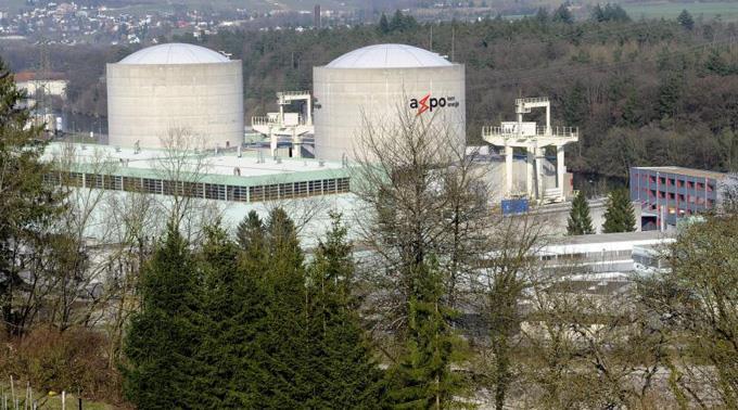 Das Kernkraftwerk in Beznau.