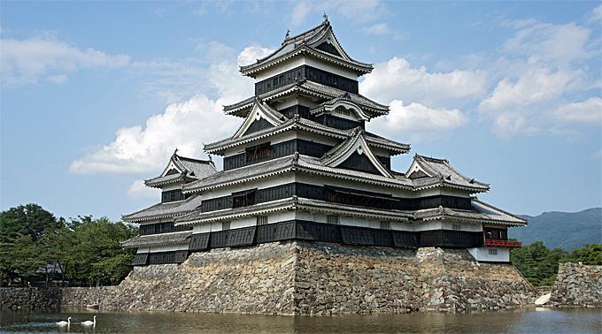 Die Burg Matsumoto.