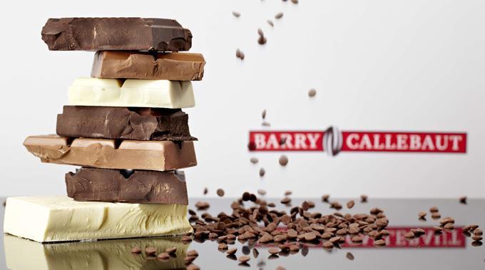 Schokoladenhersteller Barry Callebaut legt an Umsatz zu.