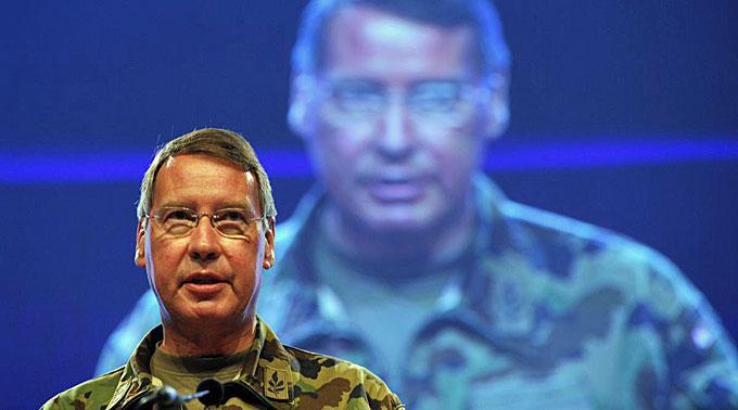 Divisionaer Kurt Nydegger leitet die «Cyber Defense»-Gruppe.