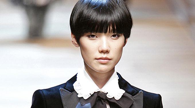 Dolce&Gabbana: Androgyner Look.