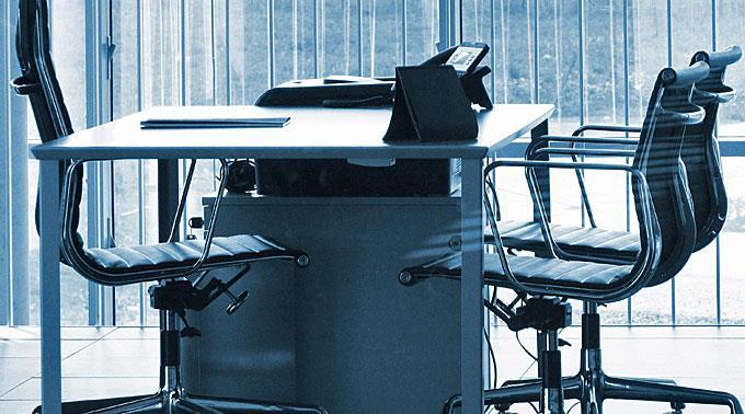 Moderne Bürowelten.