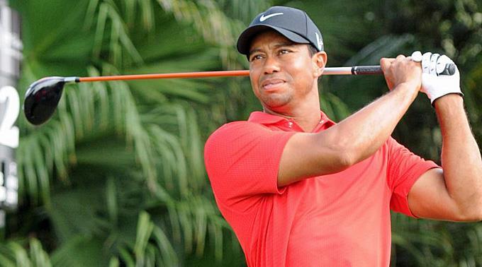 Tiger Woods in guter Form vor dem US Masters in Augusta.