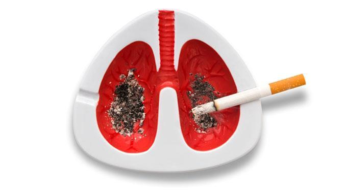 An Lungenkrebs sterben jährlich 3000 Menschen.