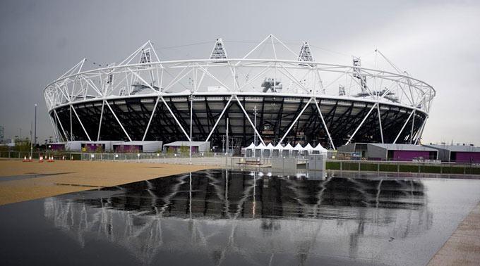 Der Olympische Park und das ganze Areal werden streng bewacht.