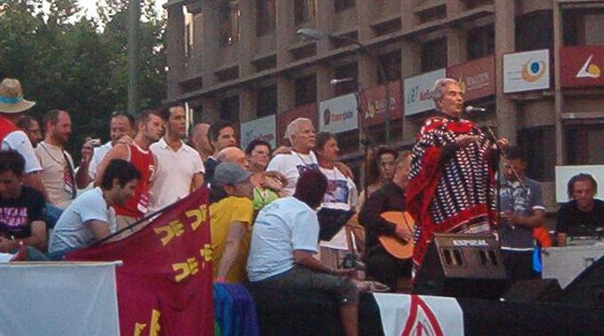 Chavela Vargas in Madrid.
