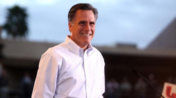 Mitt Romney legt zu.