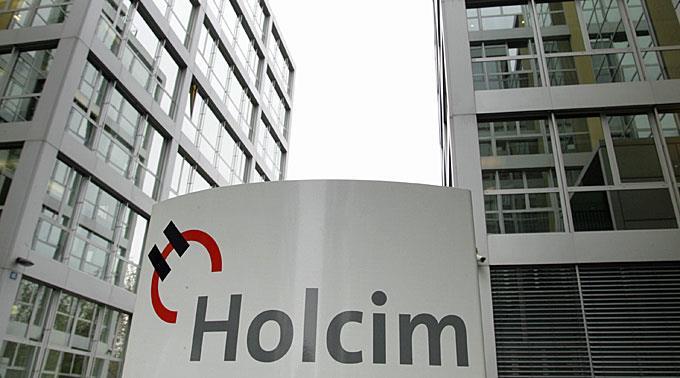 Holcim plant eine Fusion mit Lafarge.