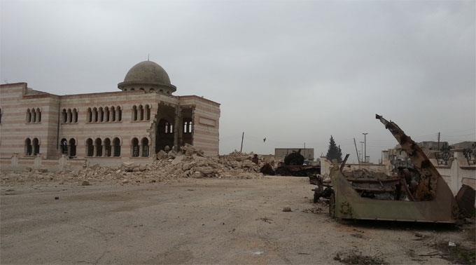 Aleppo im norden Syriens. (Symbolbild)