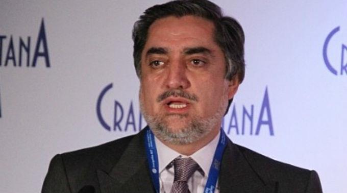 Abdullah Abdullah tritt am Samstag zur Stichwahl an.