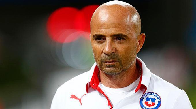 Trainer Jorge Sampaoli.