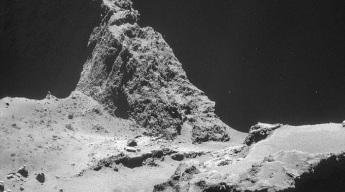 «Rosetta» kam dem Kometen «Tschuri» ganz nahe.