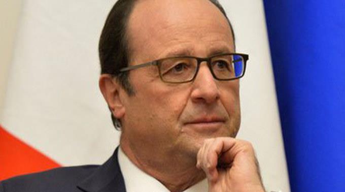 François Hollande erinnerte an den Waffenstillstand in Algerien.