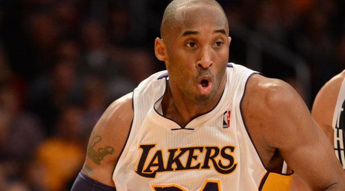 NBA-Superstar Kobe Bryant.