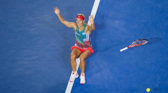 Deutschlands Tennis-Star Angelique Kerber hatte am Samstag die Weltranglisten-Erste Serena Williams aus den USA im Final mit 6:4, 3:6, 6:4 besiegt.