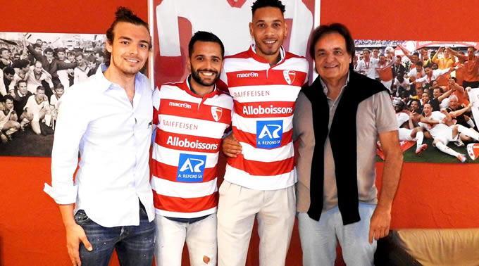 Guillaume Hoarau und Matteo Tosetti heuern beim FC Sion an.